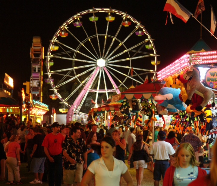 Fair at Night